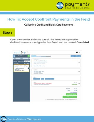 How To Accept Payments in the Field with Coolfront Payments