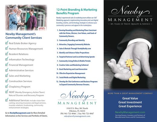 Newby Management Brochure 2019