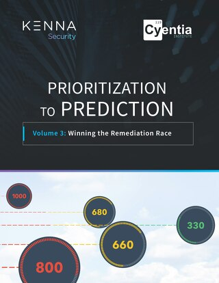 Prioritization to Prediction, Volume 3 - Winning the Remediation Race