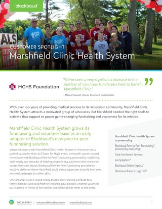 Customer Story: Marshfield Clinic Health System