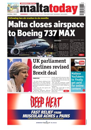 MALTATODAY 13 March 2019 Midweek