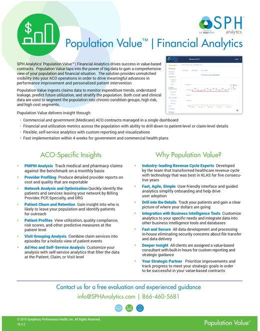 Flyer - Population Value