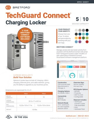 TechGuard Connect Locker Spec Sheet