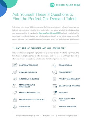 8 Questions to Help You Find the Perfect Talent