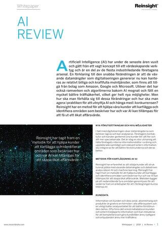 White paper - AI Review