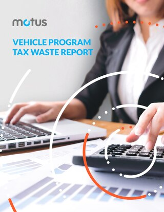 Vehicle Program Tax Waste Report