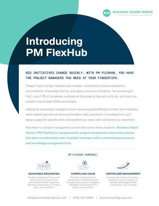 Introducing PM FlexHub by BTG