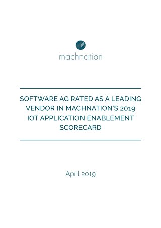 MachNation's 2019 IoT Application Enablement Scorecard