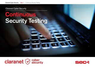 Claranet | Continuous Security Testing