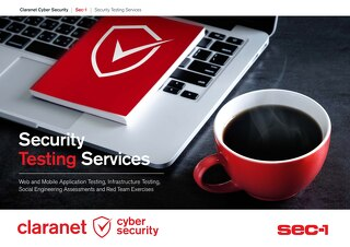 Claranet | Security Testing Services