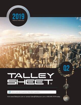 Q2 Talley Sheet 2019