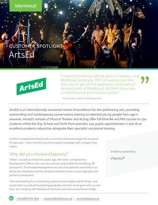 ArtsEd | eTapestry