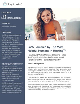 SaaS Powered by The Most Helpful Humans in Hosting: RealOrganized Case Study