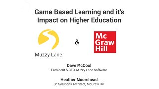 OLC Accelerate 2019 Game-Based Learning with Muzzy Lane