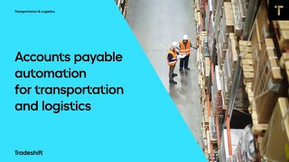 Accounts payable automation for transportation and logistics