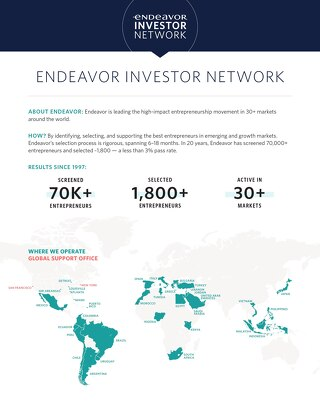 Endeavor - Investor Overview