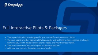 Interactive Pilots Guide