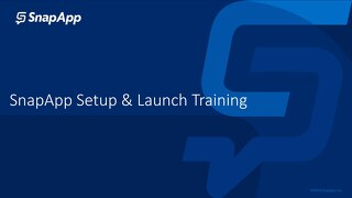 Set Up and Launch Training Guide