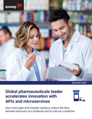 Global pharmaceuticals leader accelerates innovation with APIs and microservices