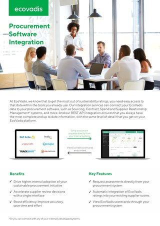 Procurement Software Integration Brochure