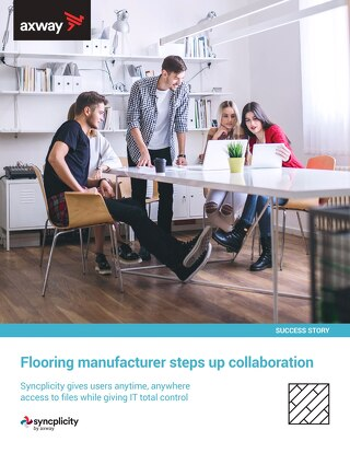 Flooring manufacturer steps up collaboration