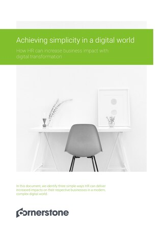 Achieving Simplicity in a Digital World