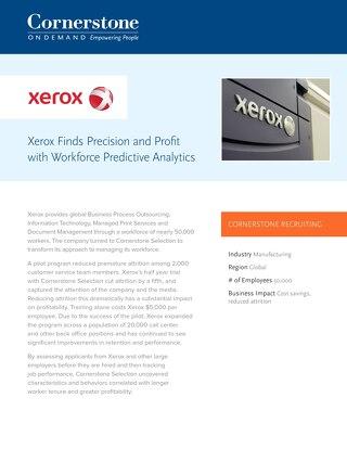 Xerox - Case Study