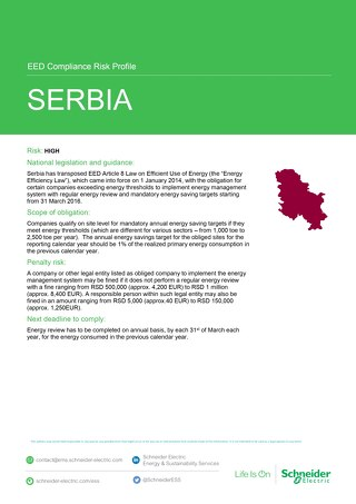 Serbia EED Risk Profile