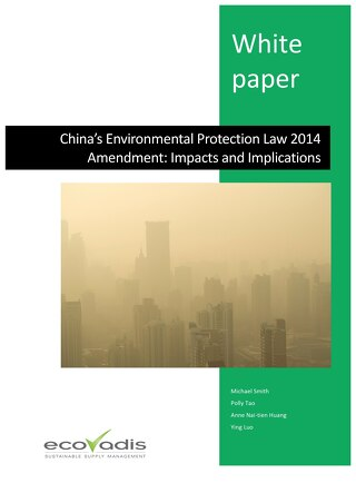 China's Environmental Protection Law 2014 Amendment