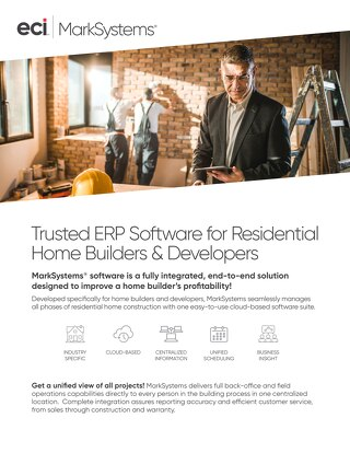 MarkSystems Trusted ERP Software