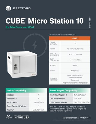 CUBE Micro Station for MacBook and iPad