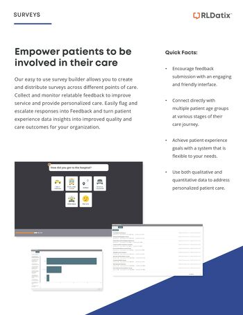 Empower patients to be involved in their Care