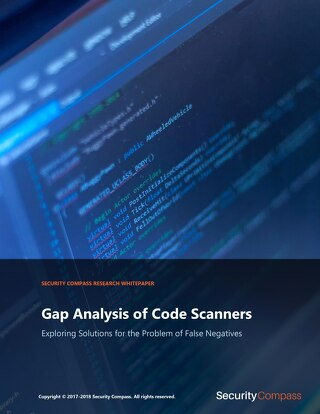 Gap Analysis of Code Scanners