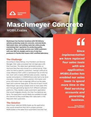 Maschmeyer MOBILEsales Case Study
