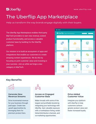 App Marketplace One Pager