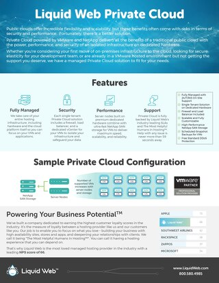 Liquid Web's Private Cloud by VMware Offers Incredible Scalability and Performance