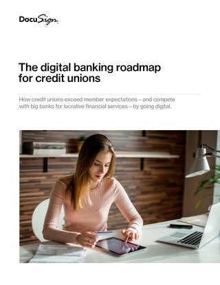 The digital banking roadmap for credit unions