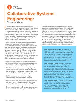 Collaborative Systems Engineering