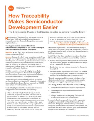 How Traceability Makes Semiconductor Development Easier