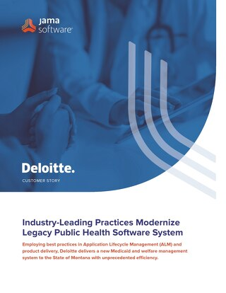 Industry-leading Practices Modernize Legacy Public Health Software System