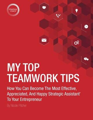 My Top Teamwork Tips