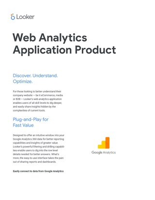 Web Analytics Application
