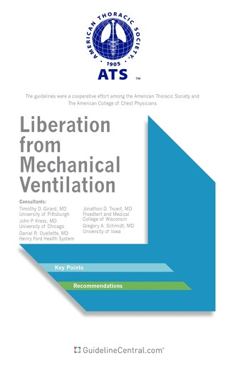 Liberation from Mechanical Ventilation