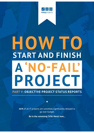 Part 5.Objective project status report