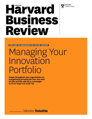 [PDF] Harvard Business Review | Managing Your Innovation Portfolio