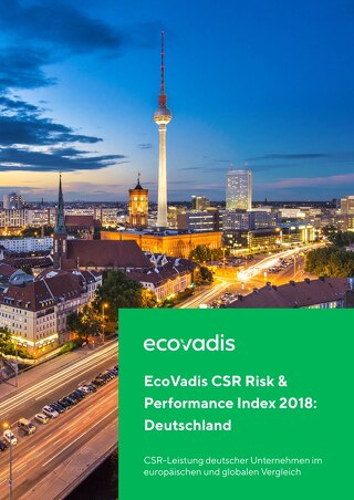 EcoVadis CSR Risk & Performance Index 2018 Deutschland