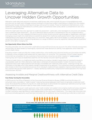 Leveraging Alternative Data to Uncover Hidden Growth Opportunities Executive Summary