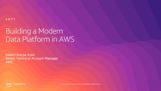 Building a Modern Data Platform in AWS