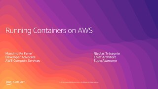 Running Containers on AWS