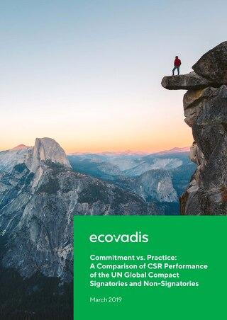 EcoVadis Studie zu UNGC-Unternehmen